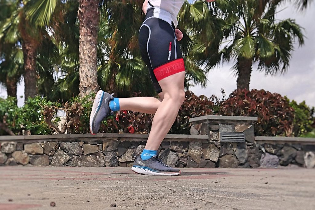 Running Technique – foot landing under hips
