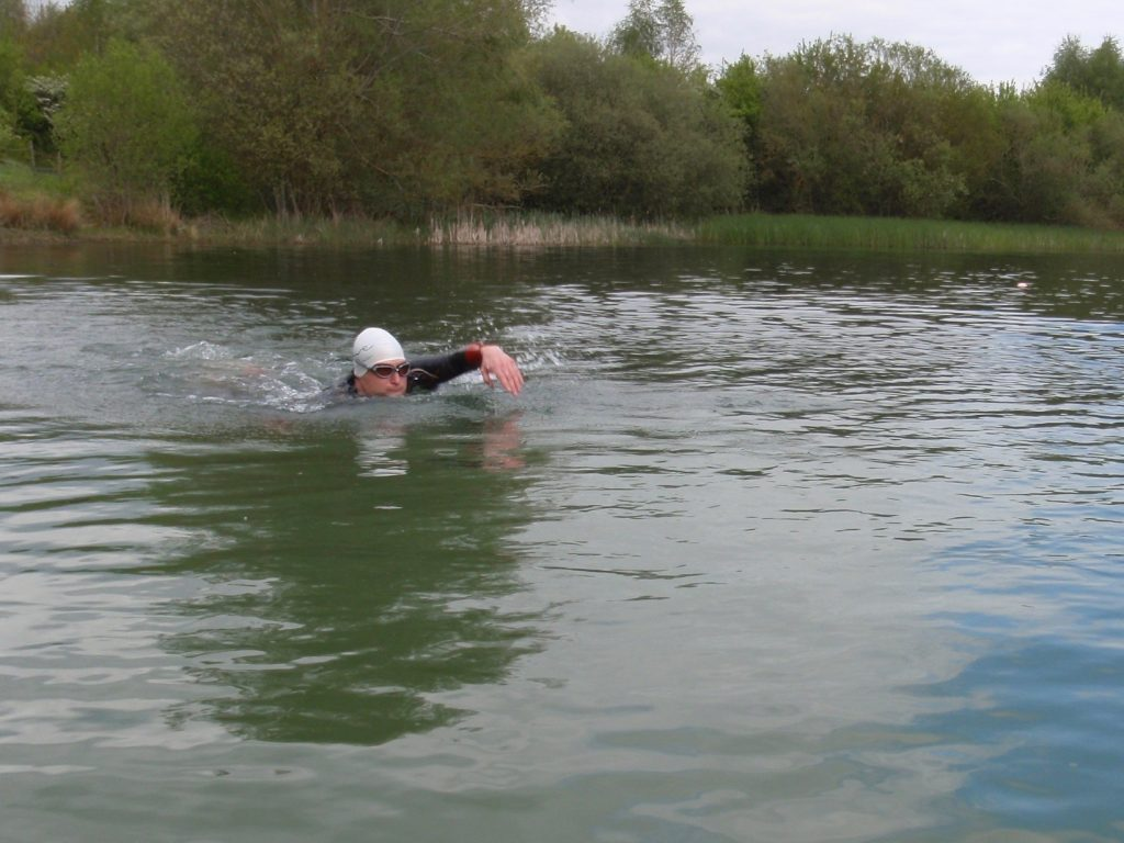 How To Acclimatise To Cold Open Water Swimming - Head Up