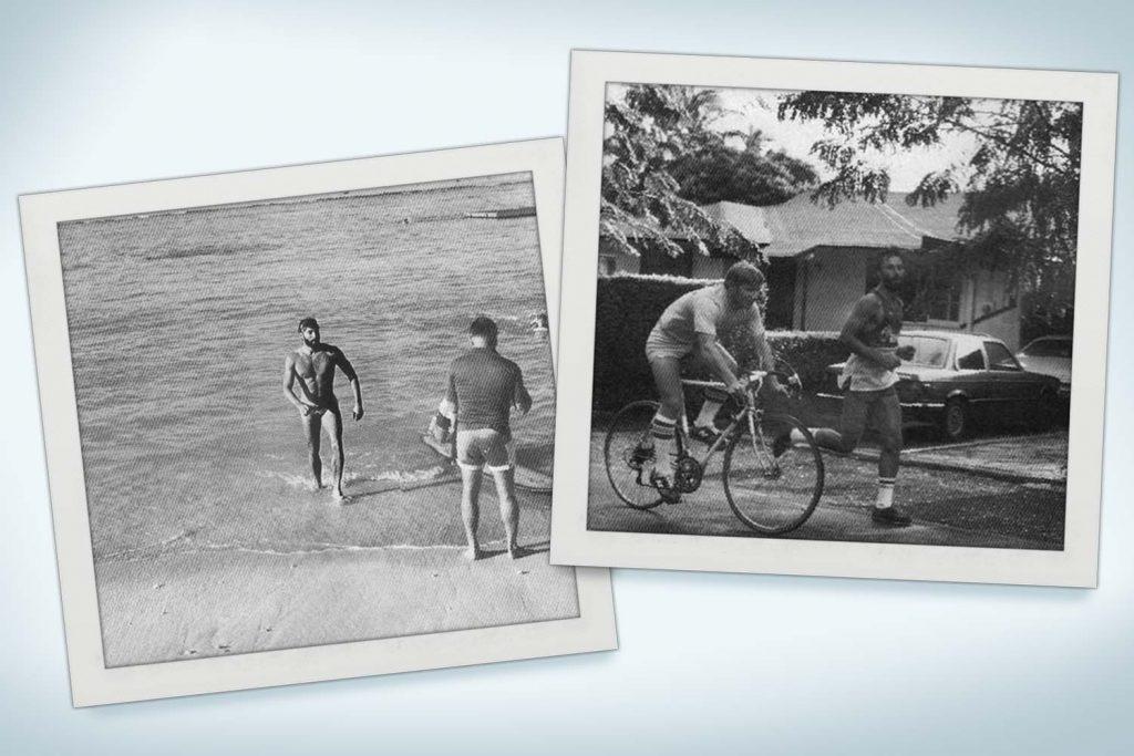 Ironman Triathlon History - Gordon Haller in the first-ever Ironman