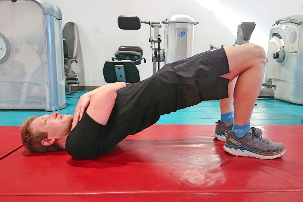 Core Exercises For Triathlon - Glute bridge