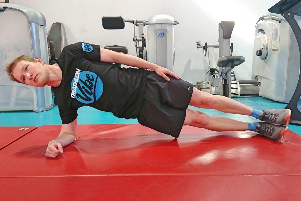 Core Exercises For Triathlon - Side Plank