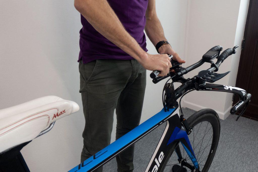 Triathlon bike fit changes