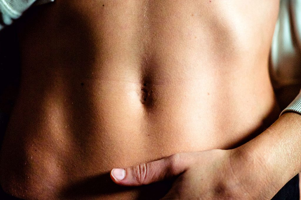 Athlete stomach