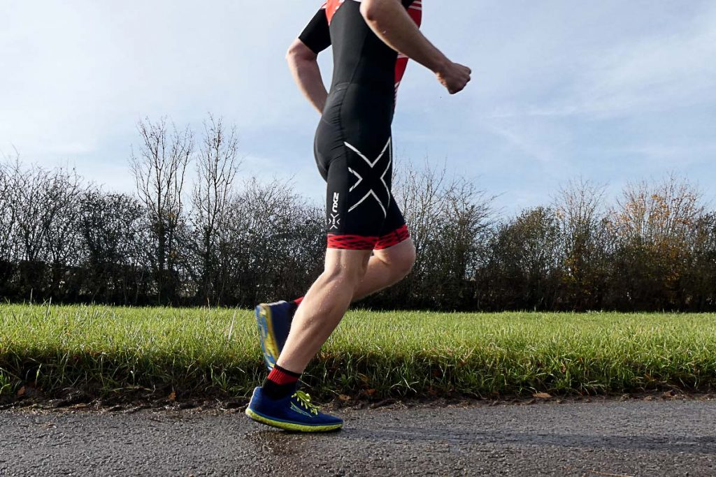 2XU Compression Tri Suit running