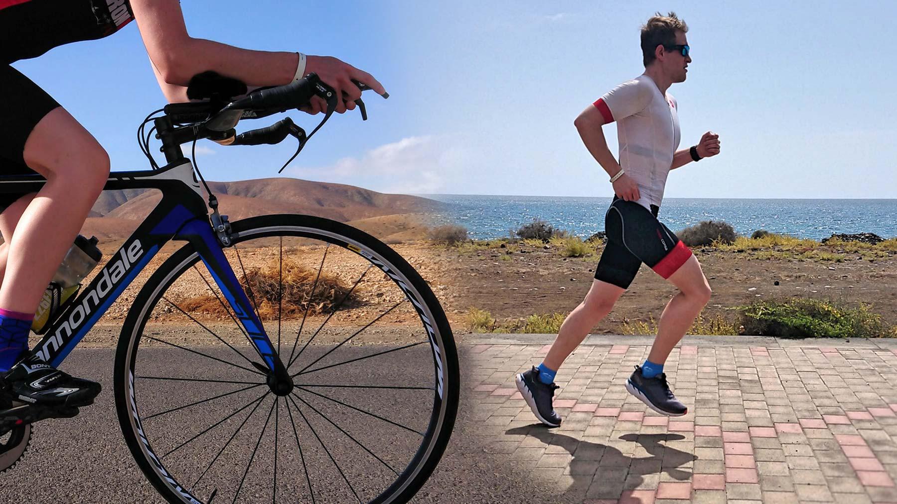 Bike And Run - Triathlon