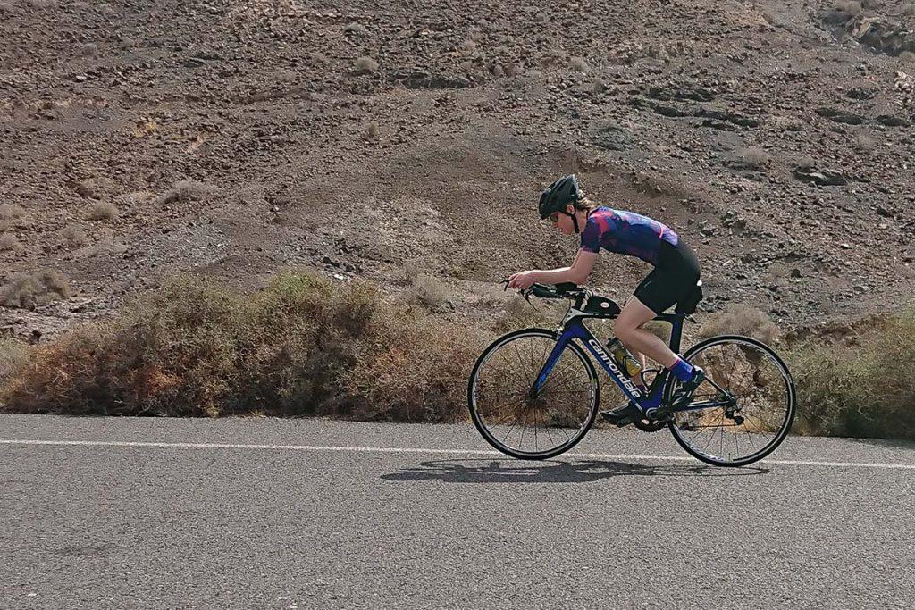 Cycling TT Bike in Fuertaventura