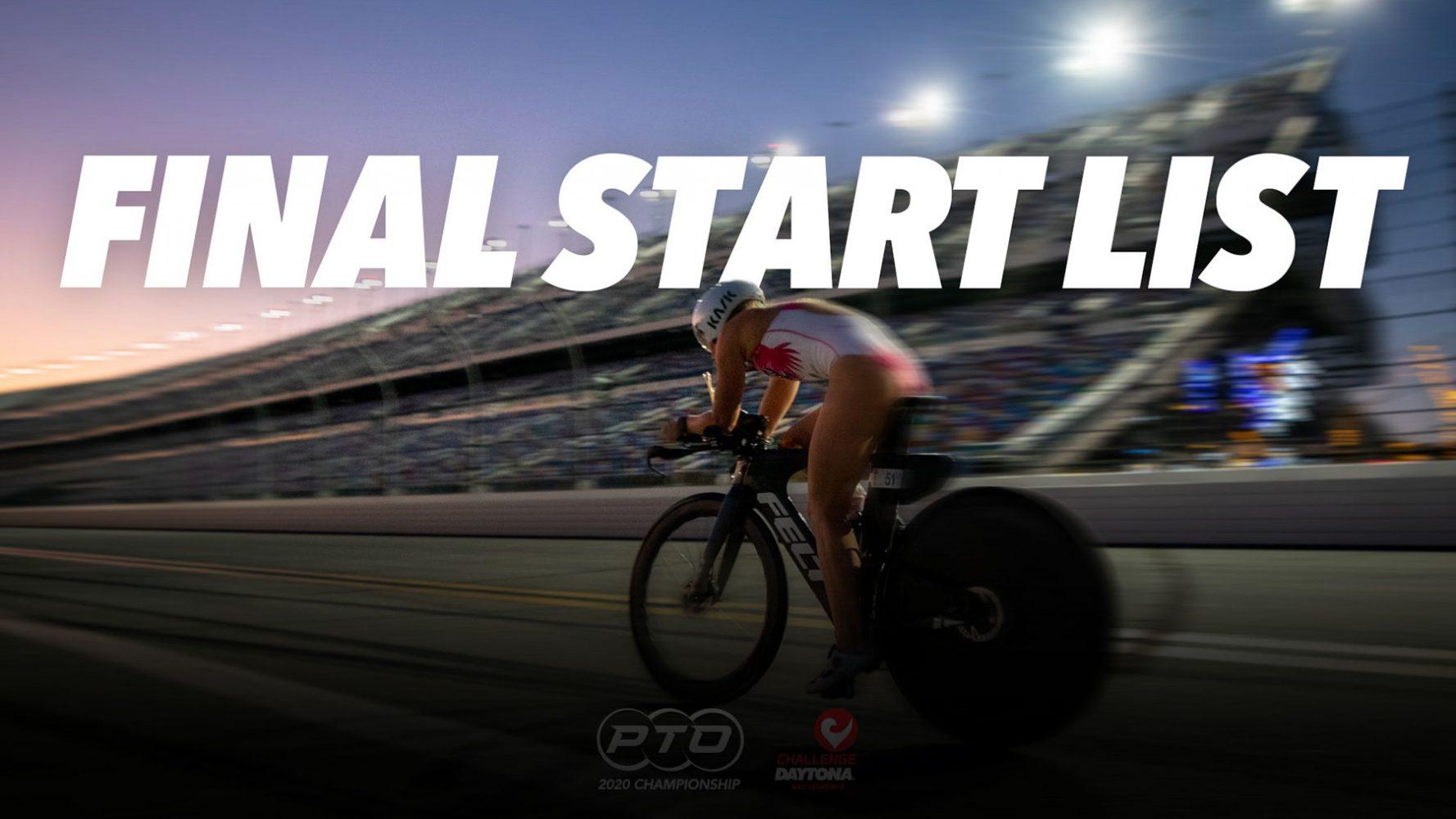 PTO 2020 Championship Start List