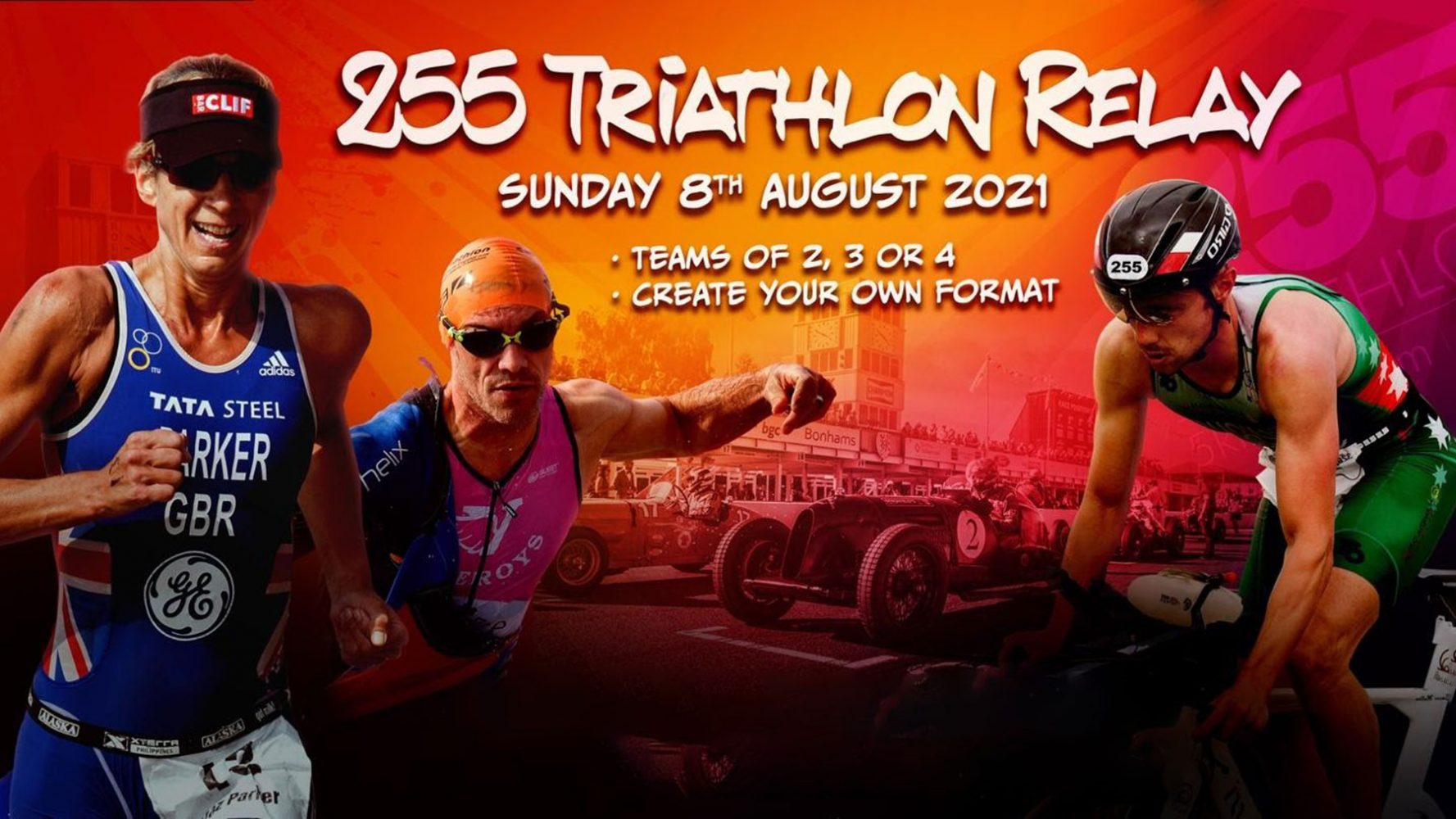 255 Triathlon Relay Race