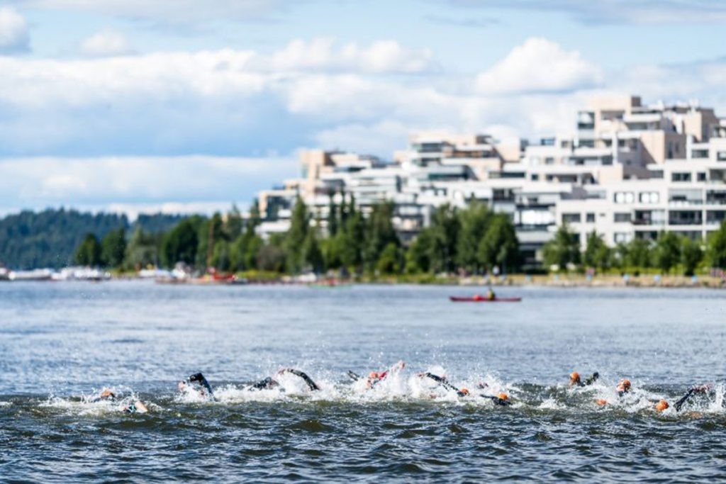 Ironman 70.3 Lahti Finland Swim