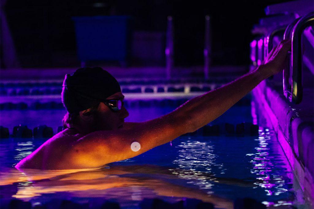 Supersapiens Swimming