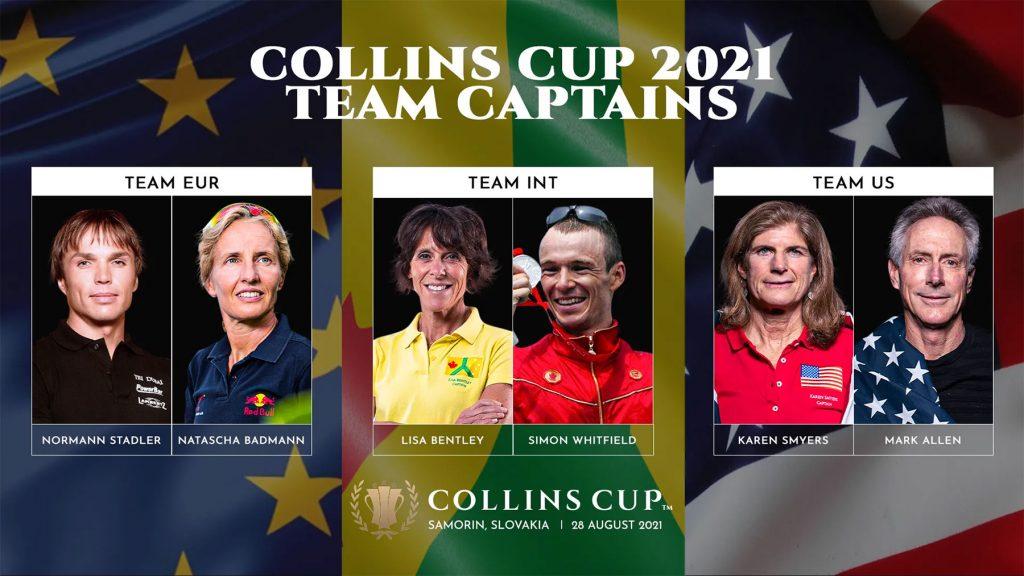 Collins Cup Team Captains 2021