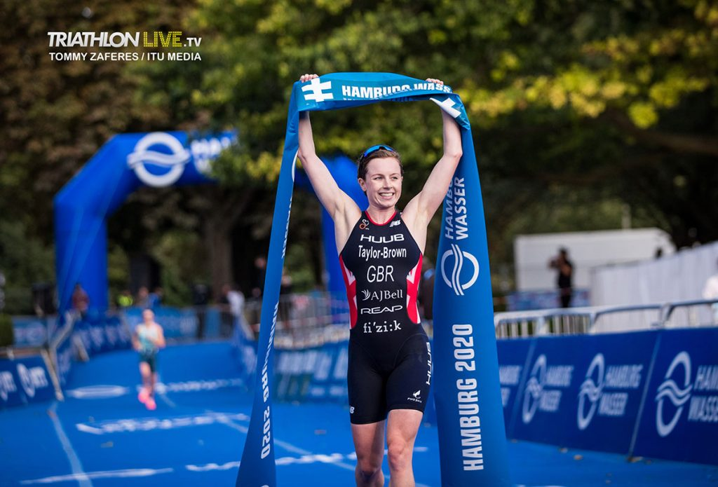 Georgia Taylor-Brown - Tommy Zaferes / World Triathlon