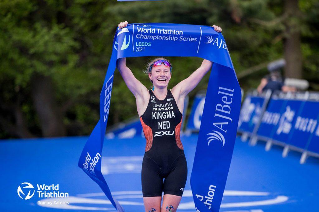 Maya Kingma - Tommy Zaferes / World Triathlon