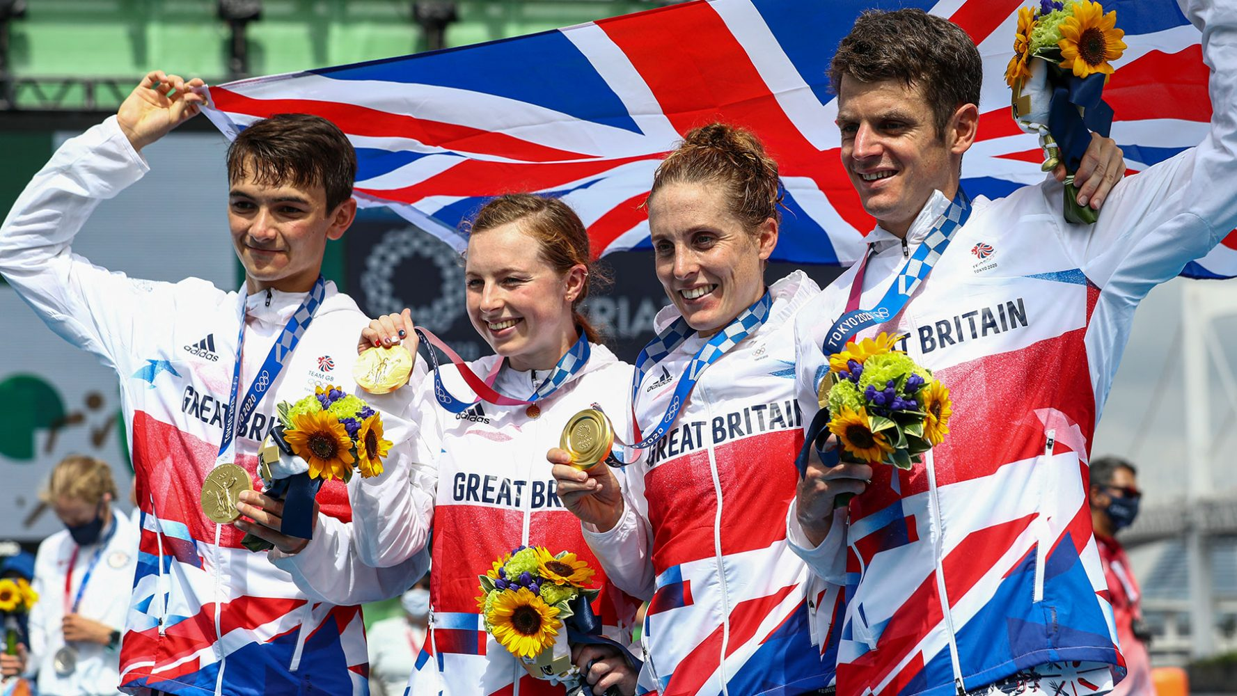 Team GB Tokyo 2020 Mixed Relay Triathlon Gold