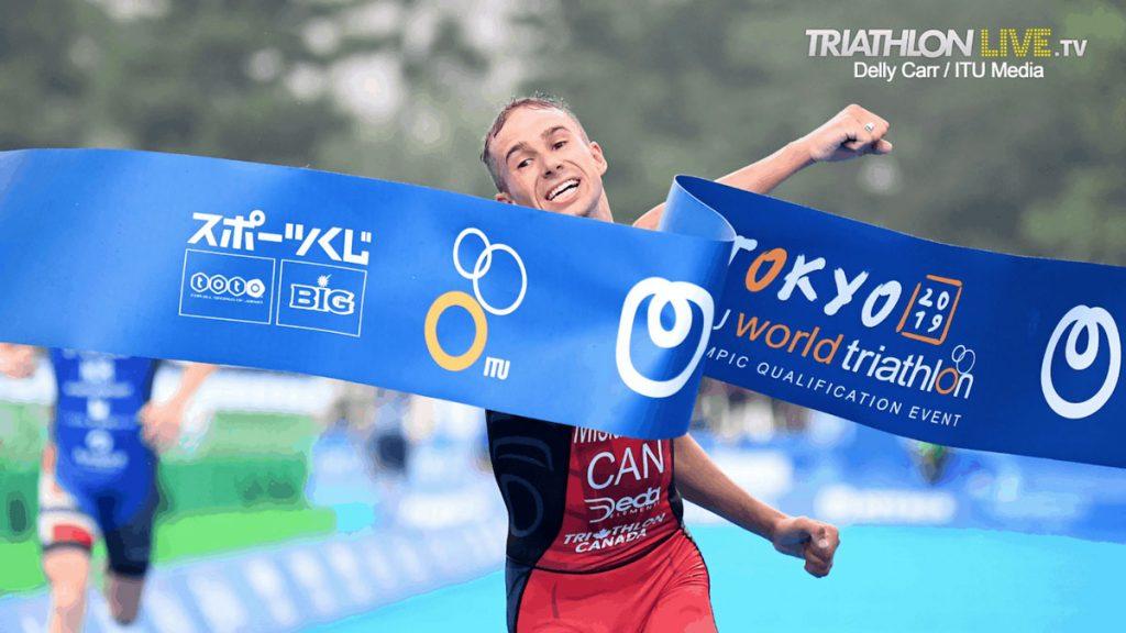 Tyler Mislawchuk - Delly Carr / World Triathlon
