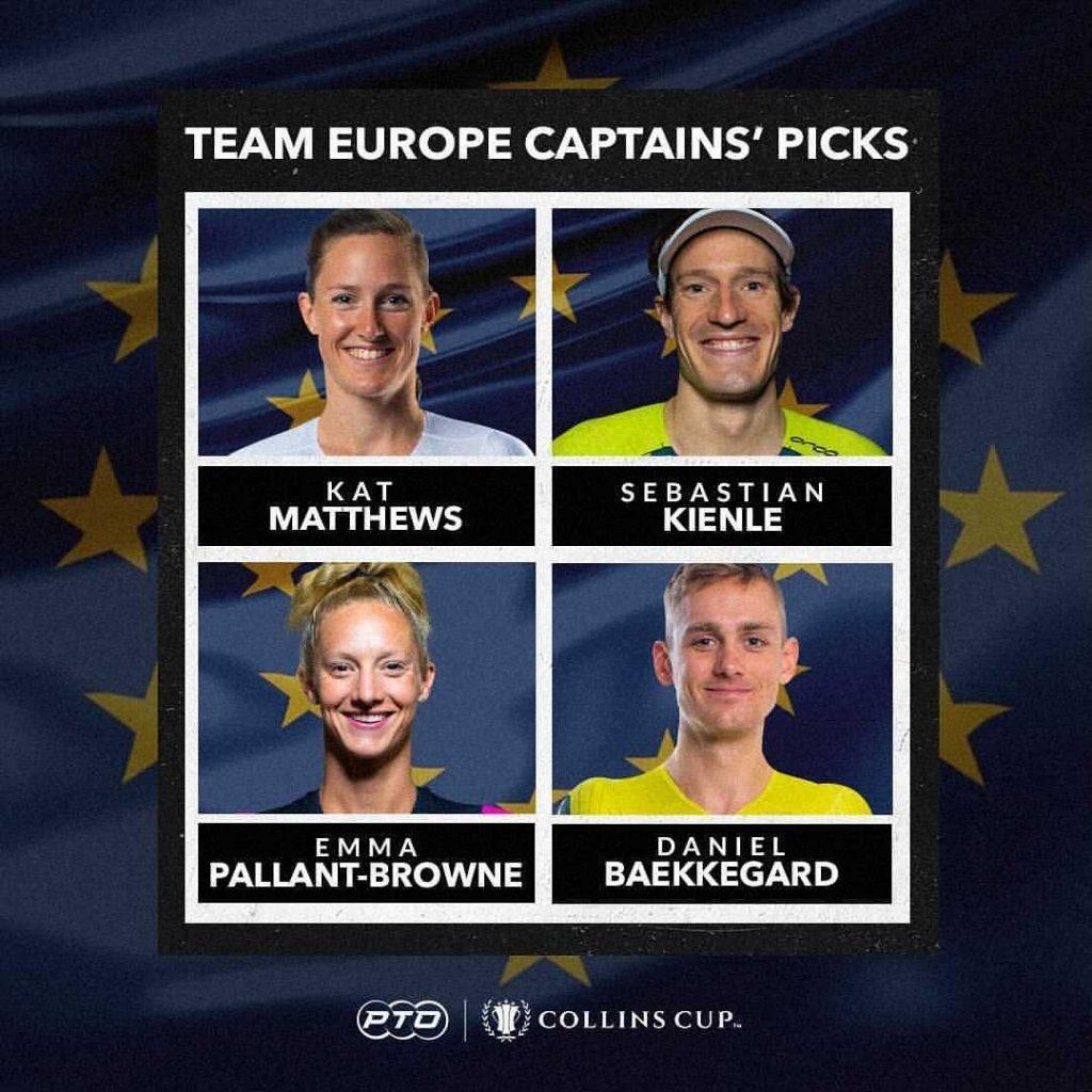 Collins Cup Team Europe Captains Picks