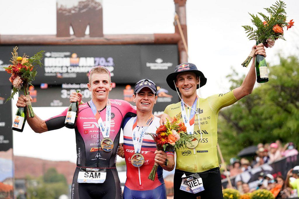 Ironman 70.3 World Championships 2021 Men's Podium