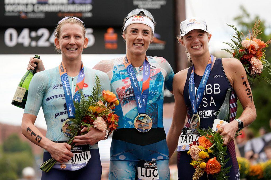 Ironman 70.3 World Championship 2021 Women's Podium
