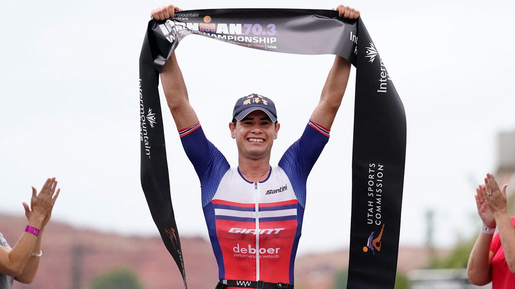 Gustav Iden – Ironman 70.3 2021 World Champion
